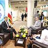 حضور بیمه میهن در نمایشگاه بین المللی بورس،بانک ، بیمه  و خصوصی سازی جزیره کیش