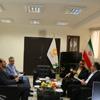 دیدار داریوش محمدی مدیر عامل بیمه میهن با مدیر کل بنیاد مسکن استان مازندران