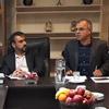 جلسه مدیر عامل محترم جناب آقای بنویدی در شعبه کرمان