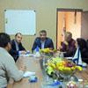 اولین جلسه مدیر عامل محترم جناب آقای بنویدی در محل شعبه زنجان